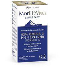 MorEPA Plus Omega 3, EPA, Healthy Heart, Blood Circulation, Moods, Wellbeing -60