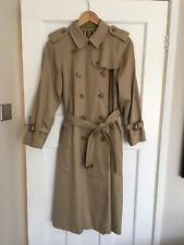vintage burberry trench coat Double Breasted Size 12 Petite