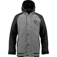 Burton Haze Varsity 2L 10K Insulated Hooded Snowboard Jacket - Mens Large Winter