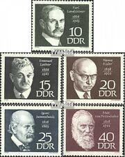 DDR 1386-1390 (complete.issue) unmounted mint / never hinged 1968 Personalities