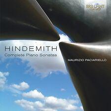 Maurizio Paciariello-complete Piano Sonatas CD NUOVO Paul Hindemith