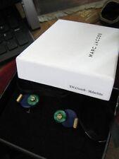 NIB w/ $185 Price Tag MARC JACOBS Vermeil, Malachite & Lapis Cufflinks XW271008