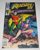 ROBIN III: CRY OF THE HUNTRESS (1992) #3 Newsstand Edition DC Comics VF/NM
