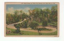 Vintage Linen Postcard Pigtail Bridge Wind Cave Nat'l Park, Black Hills, S. Dak.