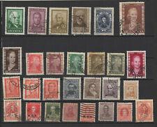 Argentine un lot de timbres anciens /T2352