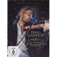 """DAVID GARRETT """"ROCK SINFONIEN OPEN AIR LIVE"""" 2 DVD NEW+"""