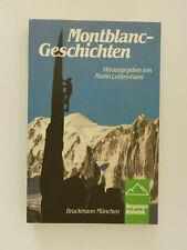 Montblanc-Geschichten Martin Lutterjohann Bergsteiger Bibliothek