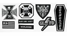HEAVY METAL BAND BLACK LABEL SOCIETY BLS PATCH SET for CHEST of BLS VEST