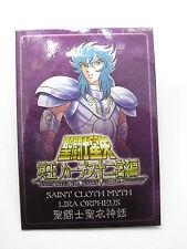 Anime Manga Saint Seiya Myth Cloth Lira Orpheus Metal Plate Bandai H.K.