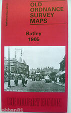 Old Ordnance Survey Map Batley north of Dewsbury Yorkshire 1905 S 232.11 New