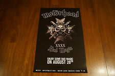 Motorhead Promo 11x17 Poster for August 2015 Bad Magic Release New