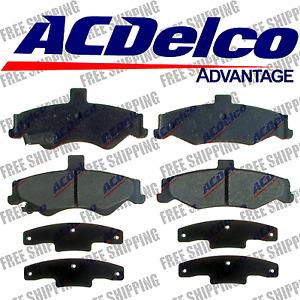 Replacement Brake (Rear) Pads Ceramic Set For 98-02 Chevrolet Camaro