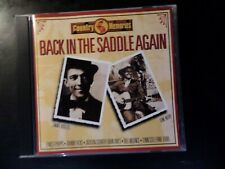 CD ALBUM - COUNTRY MEMORIES - BACK IN THE SADDLE AGAIN - JIMMIE RODGERS / GENE A