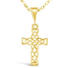 Collar de joyería de metales preciosos sin piedras de oro amarillo oro