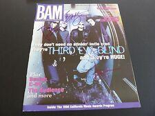 Third Eye Blind All 4 Band Signed BAM Mag Cover Photo PSA Beckett Guaranteed #1