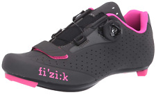 Fizik Road R5 Donna BOA - 39/8.25  Women's  Cycling Shoe- Anth/Pink- $150 Retail