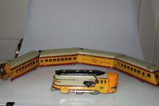 American Flyer Lines Hiawatha PreWar O-Gauge Streamline Model Train 5-car Set