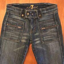 3e9f931a9 7 For All Mankind Jeans Pantalones de Mezcla de Algodón Mujer Talla ...