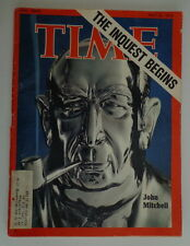 TIME magazine May21 1973 JOHN MITCHELL-Hitler-WATERGATE