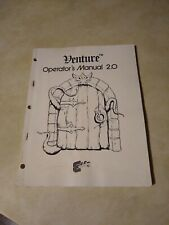 Exidy Venture Technical Manual 2.0 1981 Arcade Machine Manual