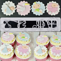 Adorable Baby Cake Sugarcraft Fondant Decor Cookie Cutter Set Chocolates Mold