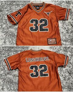 Texas Longhorns: #32: Colosseum Football Jersey : YOUTH KIDS SMALL (8/10)