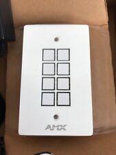 Amx Fg1301-08-Sw 8-Button ControlPad Cp-1008-Us-Wh