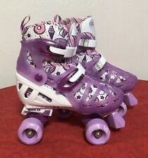Roller Derby Skates Energy-Flex(Pink&Blac k) *Quick Fit* Youth Girls Sz 3-6 New