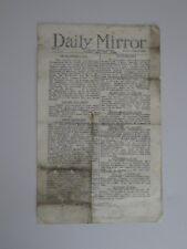 The Daily Mirror News Bulletin, No 3, May 7th 1926