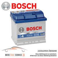 Autobatterie Bosch S4 002 12V 52Ah Starterbatterie Batterie Audi Bmw 1er 2er 3er
