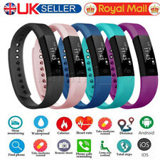 Fitness Smart Watch Band Sport Activity Tracker For Fit bit Android iOS Kid Girl