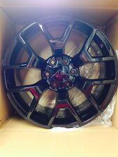 4 NEW 2014 GMC Sierra Wheels 20x9 Gloss Black OE Silverado Tahoe