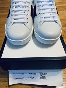 Gucci Men's Ace Sneaker US 11/UK 10.5 White/Blue
