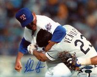 Nolan Ryan Signed Autographed Texas Rangers 8x10 Photo TRISTAR COA