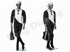 Male Fiberglass Abstract Style Mannequin Dress Form Display #Mz-Mg001