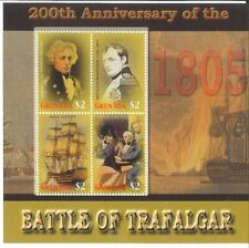 Grenada - 2005 - Battle Of Trafalgar - Sheet Of 4 - MNH