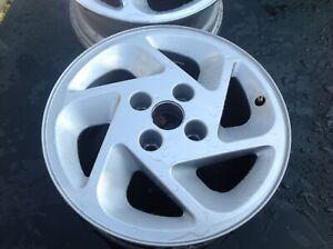 Genuine Ford Escort rs turbo alloy wheel