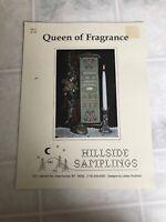 Queen of Fragrance Cross Stitch Needlework Pattern Hillside Samplings HS-17