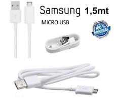 CAVO dati ORIGINALE SAMSUNG MICRO USB 1,5 Mt PER s2 S3 S4 S5 S6 S7 grand ace neo