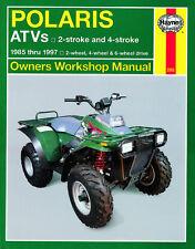 Haynes Manual 2302 - Polaris ATVs 2T/4T, 2WD/4WD/6WD (85 - 97) workshop, service