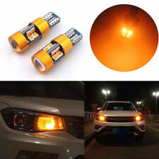 New 1pair Amber Car Position Parking Lights T10 168 194 2825 W5W 19SMD LED Bulbs