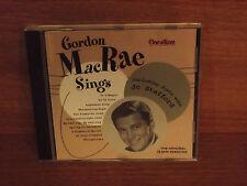 Gordon MacRae Sings including duets with Jo Stafford : CD Album : CDUS 3014