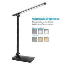 Lampada Scrivania LED Touch Pieghevole USB Ricaricabile Lettura tavolo Luce