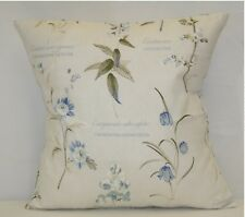"4 X ""BOTANICAL GARDENS"" CUSHION COVERS BY PRESTIGIOUS TEXTILES, 100% COT, 16"""