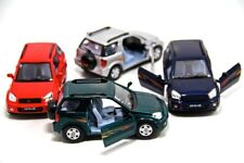"Set of 4: New 5"" Kinsmart Toyota Rav4 Diecast Model Toy SUV 1:32"