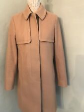 Ladies French Connection Camel Coat Size 10 Immaculate Next Day Post