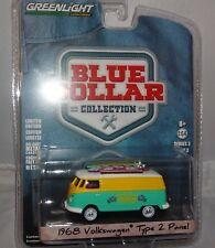 """1:64 Cols Bleus Collection Série 3 - Volkswagen Type 2 Panneau """"Nord étai Surf"""