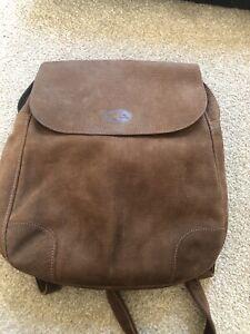 longchamp backpack leather