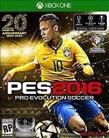 Pro Evolution Soccer 2016 (Microsoft Xbox One) Brand New Factory Sealed