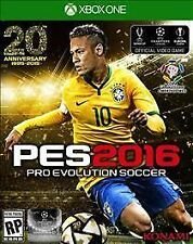 Brand New Pro Evolution Soccer PES 2016 Xbox One Game
